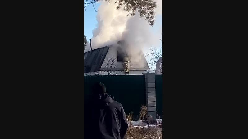Пожар в Мичурина 6