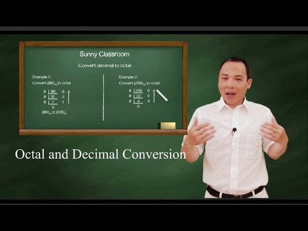 Octal and decimal conversion