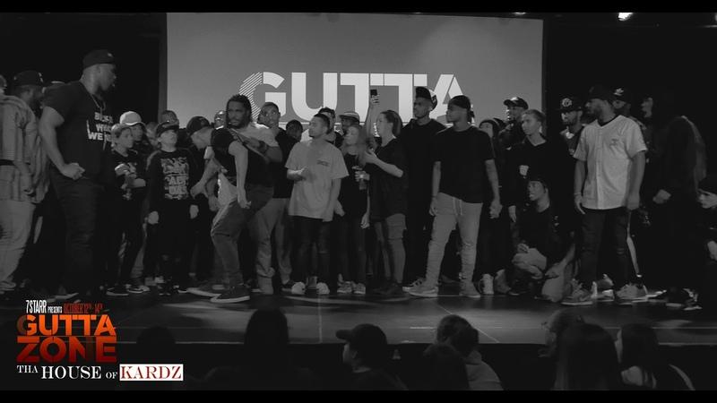 PART 2 - JR MADDRIPP VS BADD GUY 1K @ Gutta Zone 2018