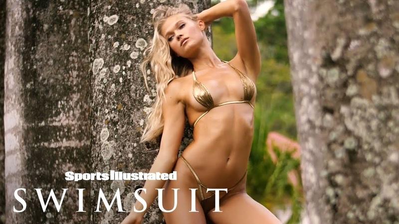 Vita Sidorkina Explores Nevis In Jaw-Dropping Bikinis   Swim Adventure   Sports Illustrated Swimsuit