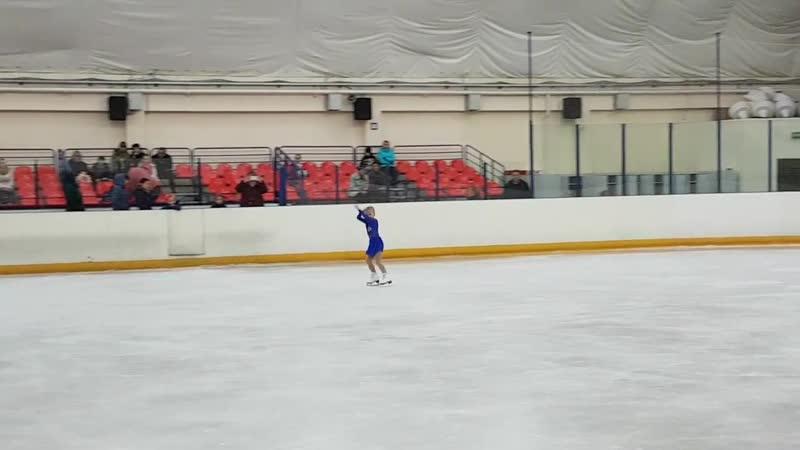 Елизавета Егорина Новочеркасск Фигурное катание