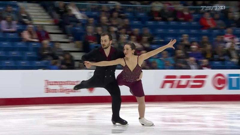 Gina CIPRIANO / Jake RICHARDSON Rhythm Dance 2019 Canadian National Championships
