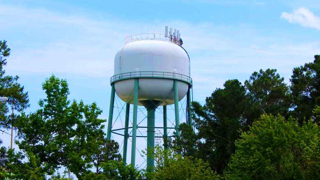 Как работают водонапорные башни?