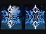 ВИА Иверия - Белые снежинки