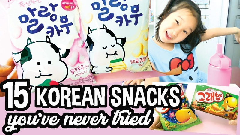 🍿Best Korean Snacks to Try bet you've never had these before