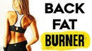 💚 How To Lose Back and Belly Fat 4 SIMPLE Lower Back and Waist Slimmer Workout That Burns Fat!🔥