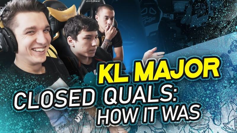 KL Major closed quals How it was