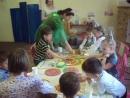 Мастер класс по пицце на космическом празднике