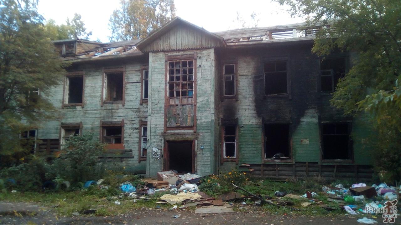 Расселенный дом в Дядьково