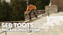 Iconic Snowboard Rail Ride in Philadelphia w/ Seb Toots