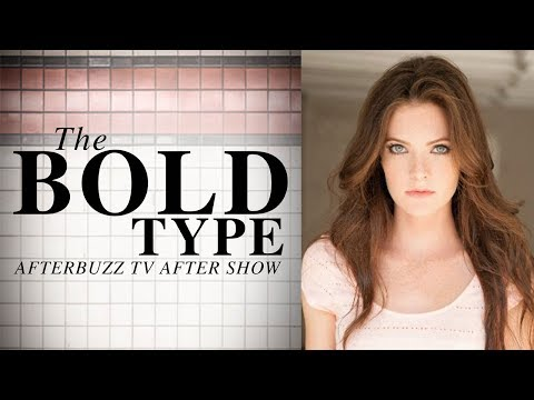 The Bold Type | Interview with Meghann Fahy | AfterBuzz TV AfterShow