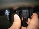 Замена лампы подсветки номера Toyota Camry V50 своими руками