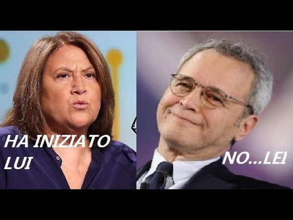 Enrico Mentana e Lucia Annunziata: Clamorosa litigata davanti al cardinale, lei se n'è andata