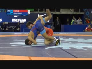 1\8 Final: Zavur UGUEV (RUS) vs. Mihran JABURYAN (ARM)