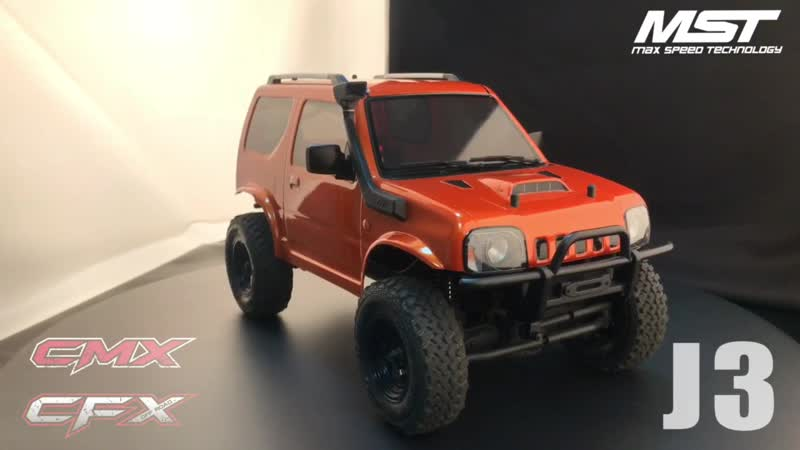 J3 body with CMXCFX chassis