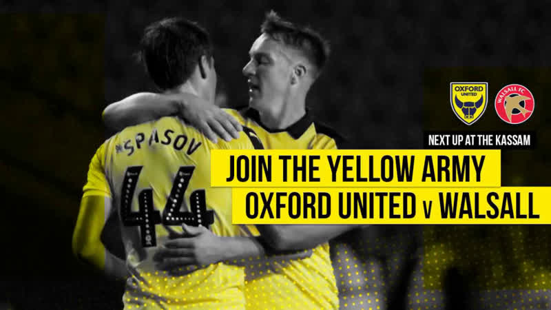Sky Bet League 1 2018-19 | 22.09.18 | Oxford United - Walsall