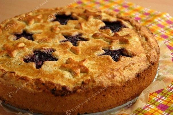 Вкусный ягодный пирог