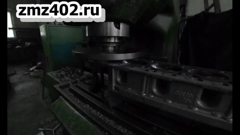 Фрезеровка ГБЦ slowmotion замедлено в 5 раз