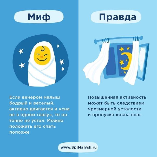 Этот миф – самый главный враг раннего режима и причина беспокойных ночных снов, долгого и утомительного укладывания.🙄