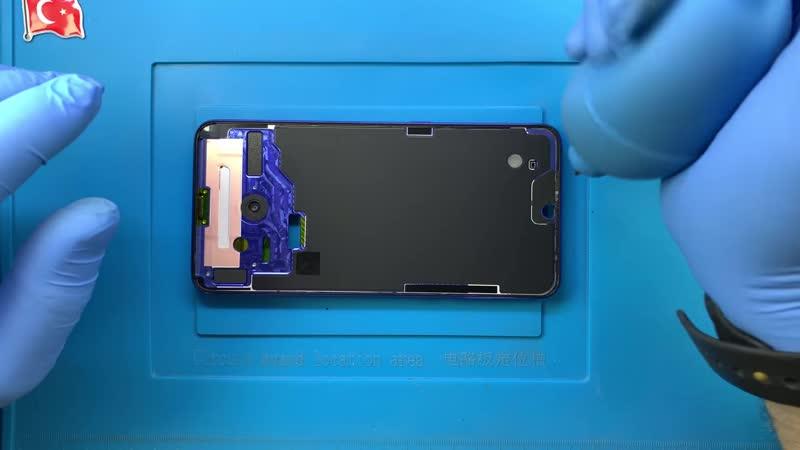 GSM İletişim TÜRKİYE'DE İLK Xiaomi Mi 9 Ekran Değişimi 🇹🇷 xiaomimi9