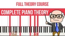 Complete Piano Theory Course - Chords, Intervals, Scales More!