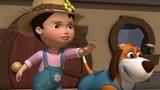 Английский язык для малышей - Мяу-Мяу - Самая большая тыква (The Biggest Pumpkin) - учим английский