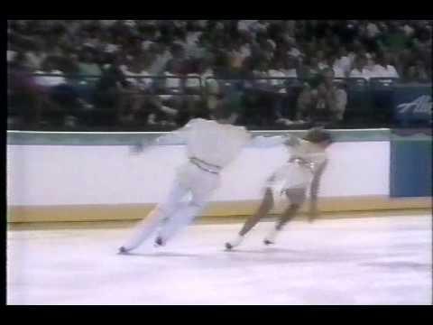 Grishuk Platov URS 1990 Goodwill Games Ice Dancing Free Dance