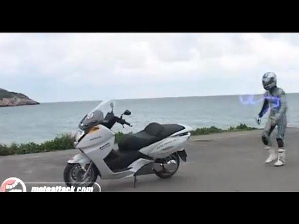 Vectrix eléctrica, la prueba Motoattack