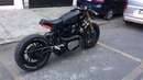 Cafe racer Yamaha virago walk around