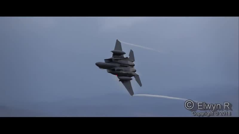 Best of 2018 in the Mach-loop, Low-Level Flying