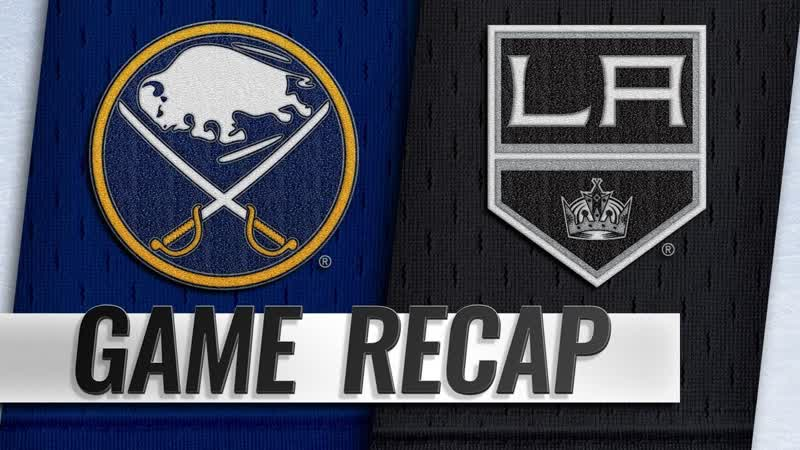 НХЛ - регулярный чемпионат. «Лос-Анджелес Кингз» - «Баффало Сэйбрз» - 15 (01, 03, 11)