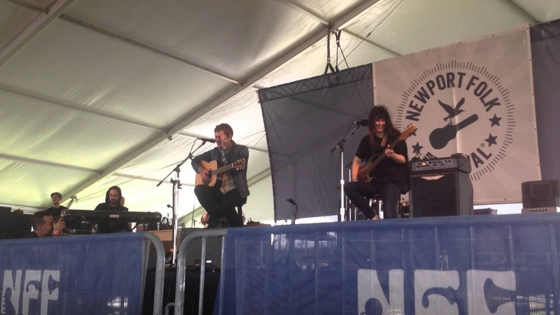Brian Fallon - Newport Folk fest 7/26/15. The Blues Mary/ Behold the Hurricane