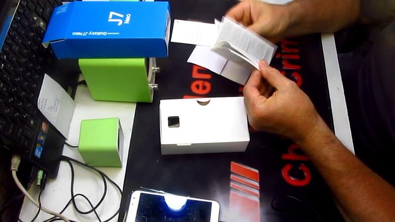 просто распаковка смартфона Samsung Galaxy J7 Neo а Алиэкспресс