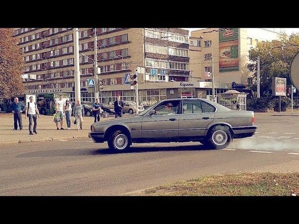 BMW E34 КАЖДЫЙ ПОВОРОТ на 2х КОЛЕСАХ! Во сколько обходится обслуживание старой БМВ? Цена запчастей