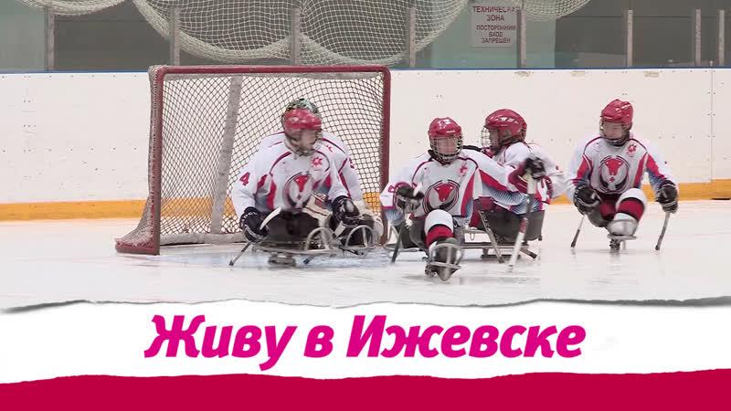 Следж - хоккей в Ижевске