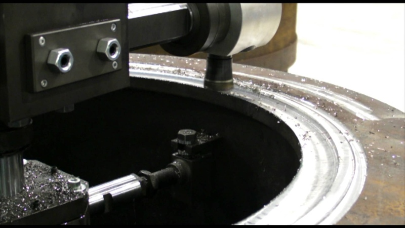 Sir Meccanica S.p.A. - New Flange Facing Machine - FMax800