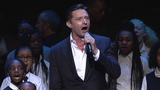 Harlem Village Academies Hugh Jackman Performs