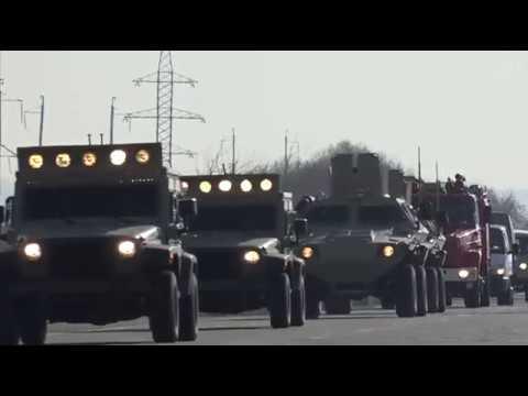 Naxçıvan Qarnizonu qoşunlarında komanda-qərargah təlimi keçirilib - 26.02.2019