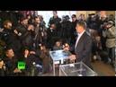 02 11 2014 ДНР Донецк Александр Захарченко на выборах Новороссии