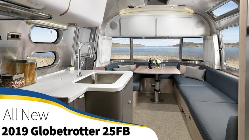 2019 Airstream Globetrotter 25FB Twin and Queen Bed Announcement Walk Through