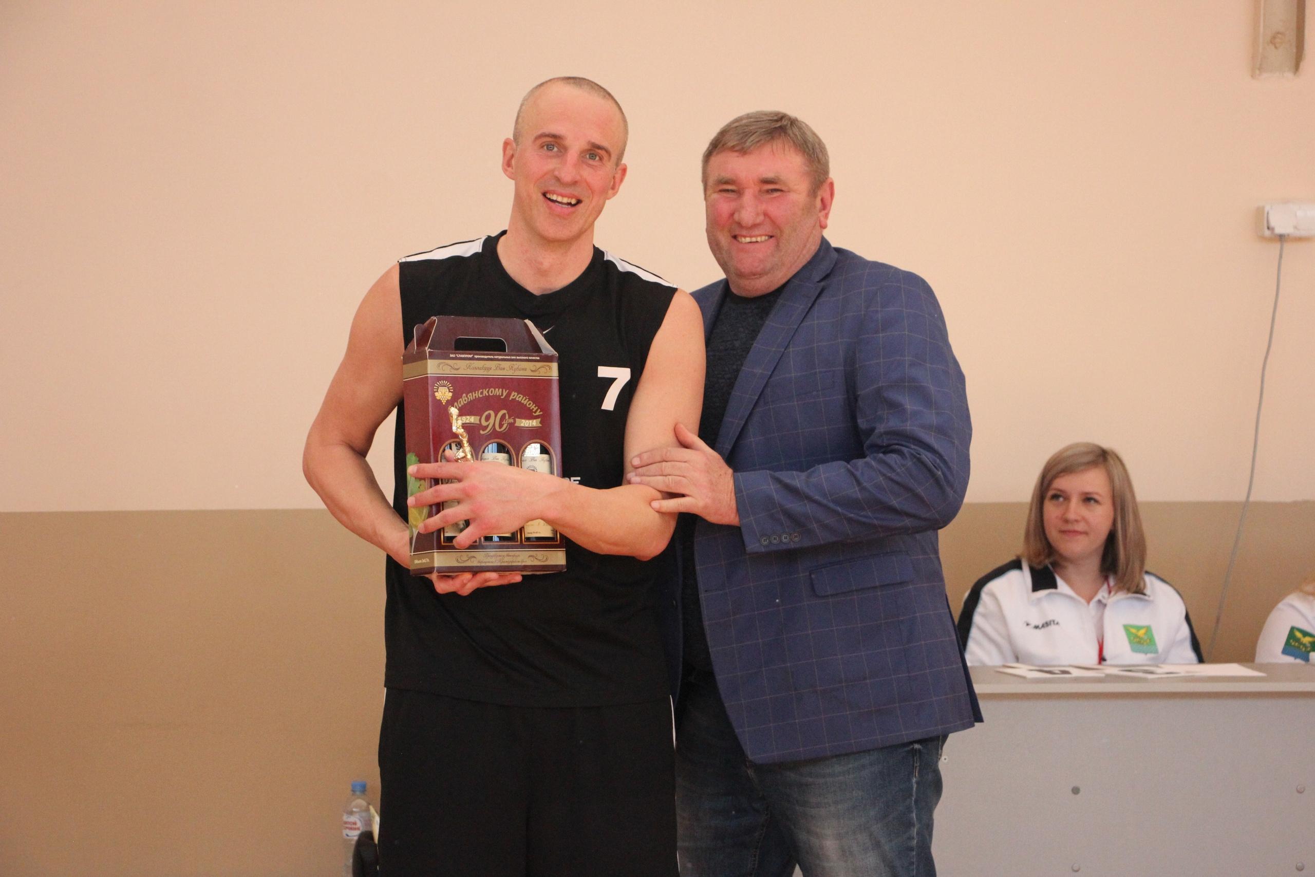 Роман Семернинов - победитель конкурса 3-очковых бросков