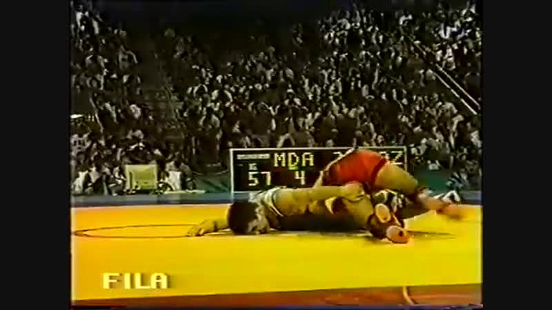 ОИ-1996 57 кг Насир Алиджанов (Молдова)-АРТУР ФЕДОРОВ (Казахстан-САХА)