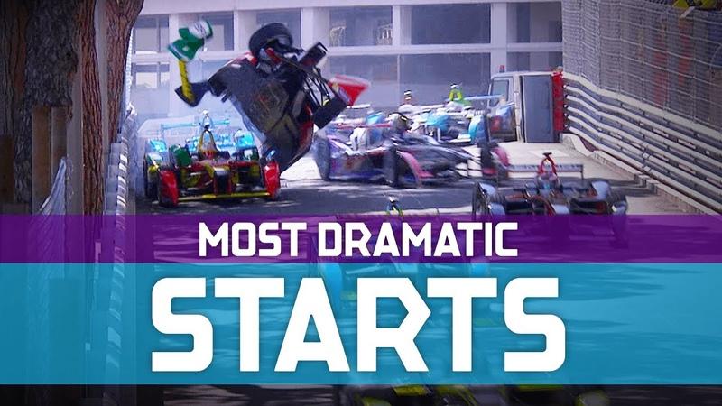 The Most Dramatic Race Starts In Formula E History ABB FIA Formula E Championship