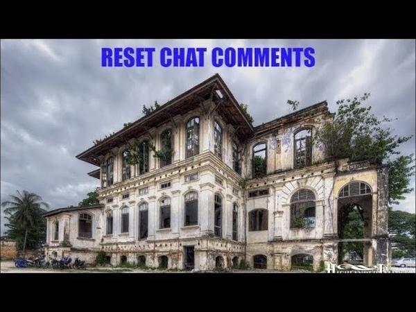 Reset chat comments