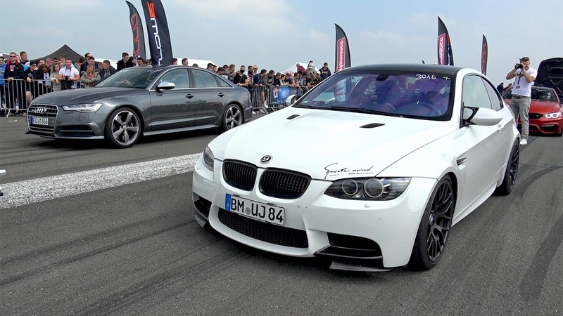 BMW M3 E92 G-POWER V8 KOMPRESSOR vs Audi S6
