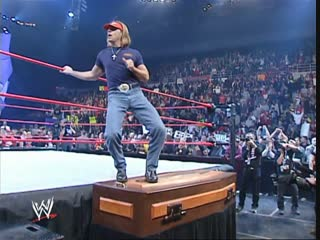 Casket match - Kane vs Triple H 10/28/2002