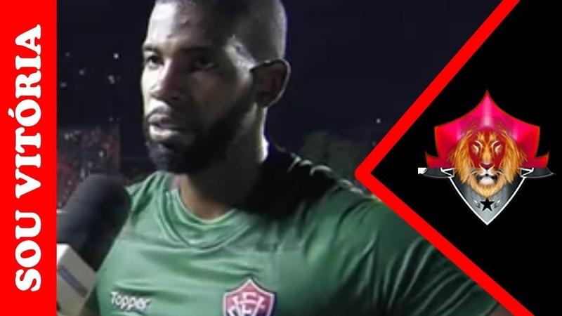 Sport 0 x 0 Vitória confira o que o goleiro João Gabriel falou após empate na Ilha do Retiro