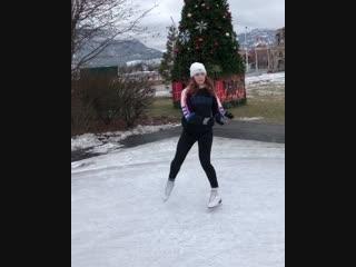 Танцы на коньках 🎄