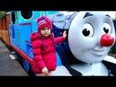 ТОМАС и его Друзья - Парк Развлечений для детей. Новый Год с Паровозиком Томасом. Влог.
