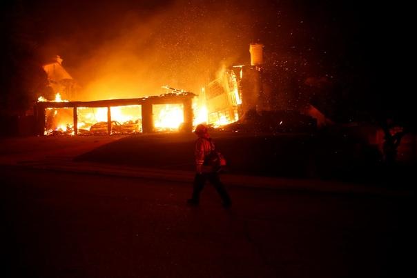 Ад в раю: лесные пожары в Калифорнии